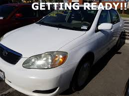 2005 toyota corolla le for sale used 2005 toyota corolla sedan le white for sale near los