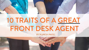 Gyms Hiring Front Desk 10 Traits Of A Great Front Desk Agent Rupesh Patel Pulse
