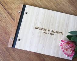 memorial guest books lorgie custom wood guest books albums portfolios by lorgie