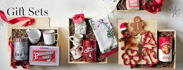 christmas sets gift sets gourmet food baskets williams sonoma