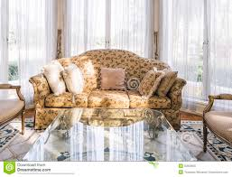 Sofa Pillow Sets by Fabric Sofa Set U0026 Table Stock Images Image 21384154