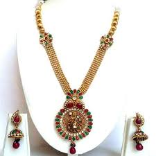 beautiful necklace online images Beautiful gold long necklace online india hayagi jpg