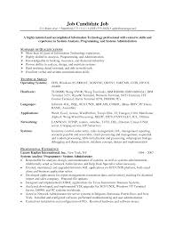 Computer Programmer Resume Resume Objective Examples Computer Programmer