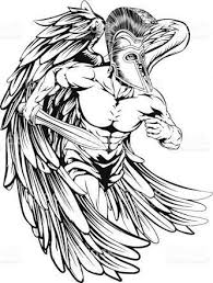 the 25 best archangel michael tattoo ideas on pinterest