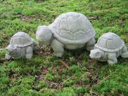 Turtle Planter Turtle Family Concrete Garden Statues Turtles For Garden