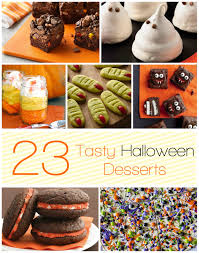 23 tasty halloween desserts