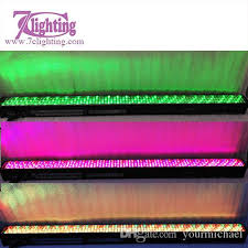 wedding backdrop chagne 320 x f10 led wall washer dmx rgb led light bar backdrop lighting