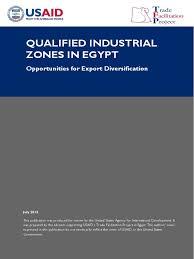 qiz qualified industrial zone in egypt exports tariff