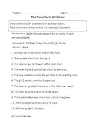 Sap Mm Resume Sample For Freshers by Writing Past Tense Worksheets Ingles Fichas Pinterest