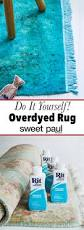 diy overdyed rug sweet paul magazine