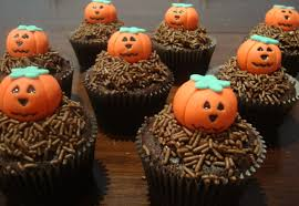 Halloween Cute Cakes Cupcakes