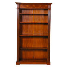 Narrow Mahogany Bookcase Nof059 Mahogany Bookcase Inlaid Bookshelf Adjustable Bookshelf