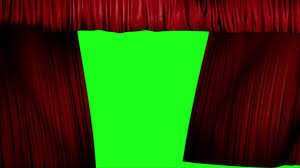 red curtains opening with alpha channel free hd footage 1280x720