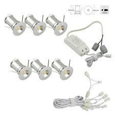 under cabinet light kit recessed mini spotlight under cabinet lights triac dimmable 6 spot