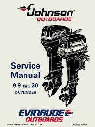 1995 johnson evinrude eo 9 9 thru 30 service manual 503146 pdf