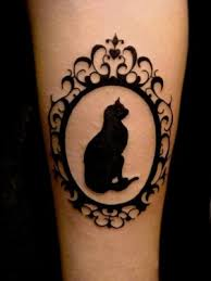awesome cat wrist tattoos designs 2