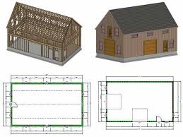 Two Story Workshop Free Garage Plans Sds Plans Part 2