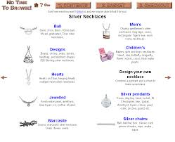 sterling silver necklace styles images Silver necklace png