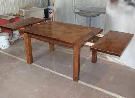 harvest dining table reclaimed harvest table standard end leaves