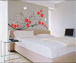 wall sticker art for bedroom home remodel ideas fabulous lovely