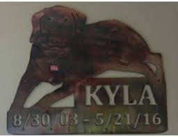 dog memorial smw558 custom metal dog memorial sign sunriver metal works