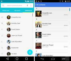 kitkat contacts apk android l vs android kitkat a visual comparison news xiaomi