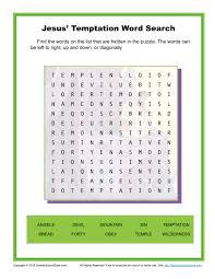 thanksgiving wordsearch for kids jesus u0027 temptation word search children u0027s bible activities