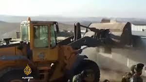 bulldozers to raze palestinian village in israel israel news