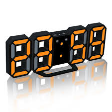 horloge de bureau aimecor usb électronique horloge de bureau led table moderne