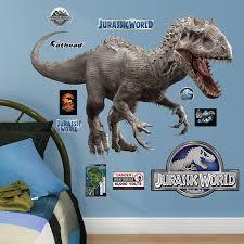 amazon com fathead indominus rex jurassic world junior peel and
