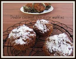 donna hay chocolate and double coconut muffins the hungry mum