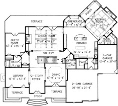 european style house plan 5 beds 4 5 baths 5326 sq ft plan 54