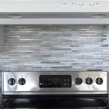 Peel And Stick Backsplashes For Kitchens Peel And Stick Backsplash Tile You U0027ll Love