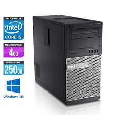 dell ordinateur de bureau ordinateur occasion dell optiplex 990 tour i5 4go 250go