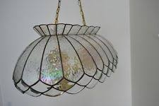 Stained Glass Light Fixtures Dining Room Brass Stained Glass Chandeliers Ebay
