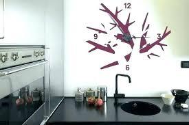 horloges murales cuisine horloge murale de cuisine horloge originale salon beautiful pendules
