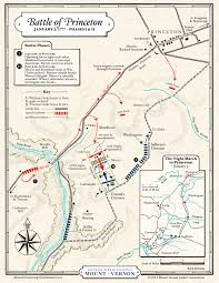What State Is Washington Dc In Map by Map The Battle Of Princeton Phases I U0026 Ii George Washington U0027s