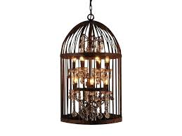 How To Make A Birdcage Chandelier How To Make A Birdcage Chandelier Diy Birdcage Light Search