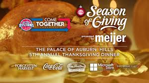 come together chronicles thanksgiving dinner detroit pistons