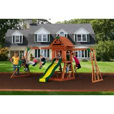 Backyard Discovery Winchester Playhouse Swing Sets Walmart Swing Sets Target Swing Sets Sears