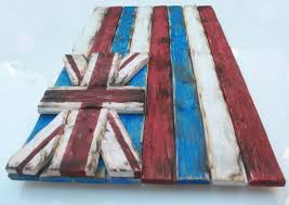 Patriotic Home Decor Weathered Wood One Of A Kind 3d Hawaii State Flag Wooden Vintage