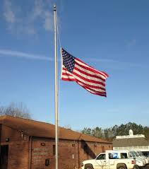Flying The Flag At Half Staff Flags First Floor Tarpley