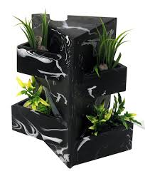12296 fluval edge black marble ornament