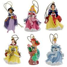 disney ornament set mini princess ornaments