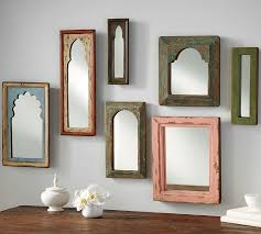 How To Hang A Wall Mirror Isabella Mirrors Pottery Barn