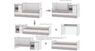 chambre évolutive bébé pas cher chambre bébé complet lit evolutif moins cher