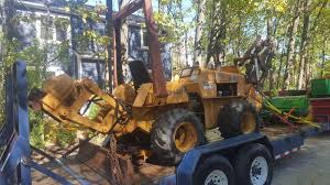 case dh4b trencher plow boring machine vibe plow 613hrs everything