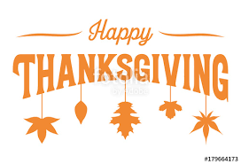 happy thanksgiving banner vector stock image and royalty free