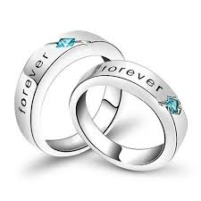 engraved sterling rings images Engraved sterling silver couple rings jeulia jewelry jpg