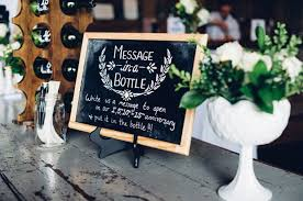 message in a bottle wedding 15 creative ways to use bottles in your wedding decor weddingsonline